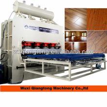 high glossy laminated flooring making machinery/ wood parquet making equipments