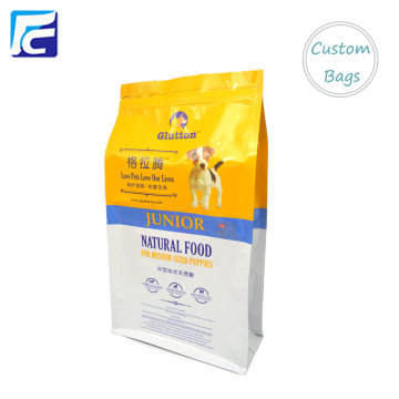 En gros plat fond chien emballage alimentaire sac