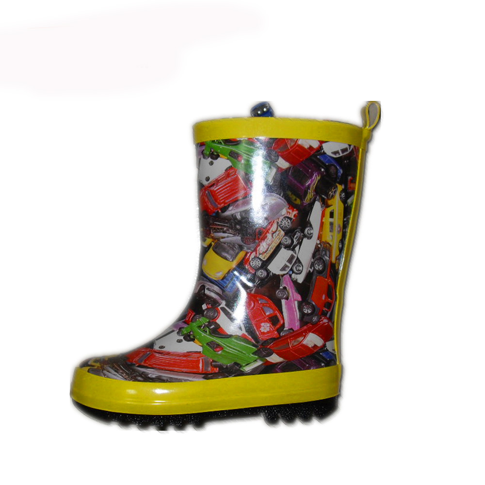 customized rubber boots