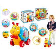 Niños tiran empuje caracol b / o juguete (h0278050)