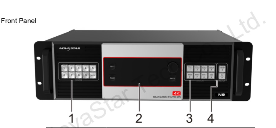 Multi Layer Seamless Switcher Novastar Brand