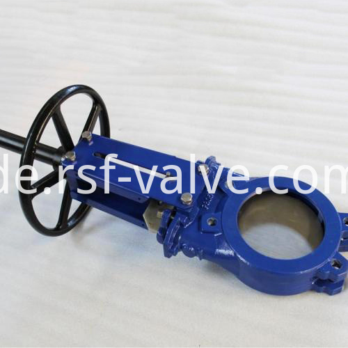 Ductile Iron Wafer Knife Gate Valve