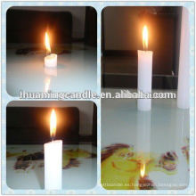Iluminación casera velas blancas