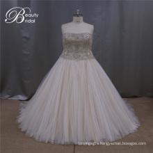Big Size Wedding Dress for Fat Woman