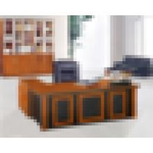 Fábrica de venda quente mesa de escritório de melamina de qualidade superior com forma de L