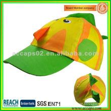 plush animal cap CH0004