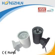 High quality aluminum 5w led outdoor up and down wall light well-lit waterproof