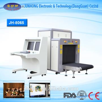 navio scanner de bagagem de raios-x para o Gabão