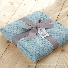 Embossed Plaid Blankets / Throw for Winter
