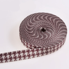 Eco-Friendly White Polyester/Nylon/Cotton Strap Webbings with Fasteners