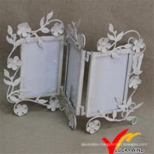Foldable Metal Photo Frame 3 Pictures