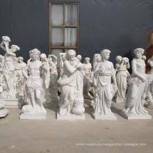 life size carving white marble stone greece statue for sale