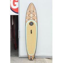 Qualitativ hochwertige Holzmaserung Muster Surfbrett für Surf-Liebhaber