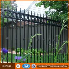 Valla de panel de seguridad de jardín de acero galvanizado