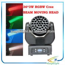 Beam DMX LED Moving Head Licht 36 * 3W CREE LEDs
