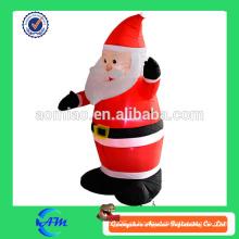 Decorações de Natal por atacado, ornamento de Natal barato inflável santa à venda