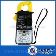 Medidor de abrazadera analógica Medidor analógico Abrazadera Multímetro Medidor de abrazadera Medidor de corriente portátil Medidor de corriente WH7160