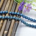 Реальный драгоценный камень ювелирных изделий природных ограненные раунда бисерные колье