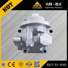 Cabeça do filtro da máquina escavadora PC450-8 de KOMATSU 6217-51-5103