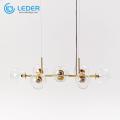Стеклянная люстра LEDER для скрытого монтажа