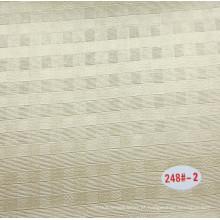 China PVC decorativa de couro com respirável