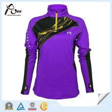China Manufacturer Women Custom Purple Color Wholesale Sportswear