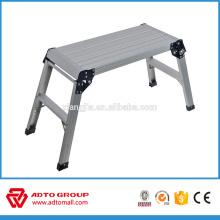 EN131 aluminum step stool ,aluminum working plat form,car-wash working platform