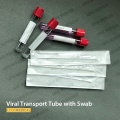VirusTransport Kit Etiquetado Tubo Doble hisopos Soporte OEM