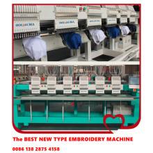 HOLiAUMA 6 heads cap & t-shirt computerized embroidery machine