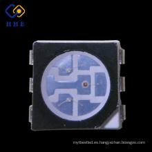 superficie negra super brillante smd 6 pin RGB 5050 led fichas de datos para la pantalla
