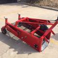 High-efficiency potato harvester for wheel tractor
