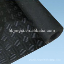 industrial grooved anti-slip rubber mat