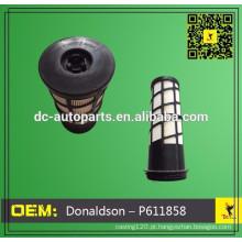 Comprimir o filtro de ar P611858