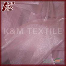 Venda quente 100 tecido de Organza de seda pura