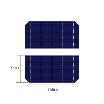 Panel solar aceptable modificado para requisitos particulares mini célula solar del corte