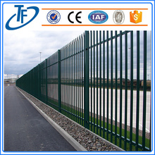 Stainless steel palisade fence