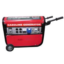 HH2750-B Gerador de gasolina vermelho com dupla tensão (2KW, 2.5KW, 2.8KW)