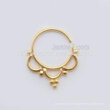 Septum Nose Piercing Ring Body Jewelry, Wholesale Handmade Indian Nose Ring Body Jewelry Manufacturer