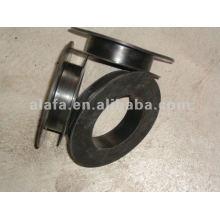 Rubber protective sleeve flange rubber flange gasket