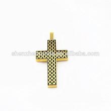 2015 summer stainless steel cross pendant