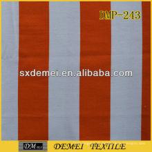Poly-Baumwolle gedruckt Gestreifte Leinwand