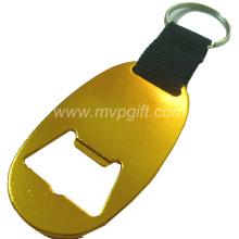 Aluminum Alloy Bottle Opener Keychain