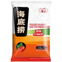 Alta calidad Buena condimento sabroso tomate caliente de la olla