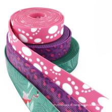 sangles en jacquard de nylon enduit par PVC de produits innovants d'animal de compagnie pour faire le collier de chien