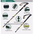 Marca CNER, bastón de trekking, bastón, bastón de fibra de carbono, bastón de senderismo