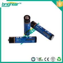 Lançamento de novos produtos na China r03 tamanho um4 bateria de célula seca 1,5 v de tensão