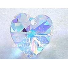 AB Kristall Herz Anhänger, Kristall Perlen