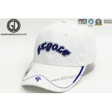 Casquette de sport professionnel de broderie avec marqueur et pochette de golf