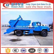 Dongfeng uso múltiplo 6cbm veículo de transporte de lixo