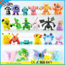 Lindo estilo de moda de moda Pokemon dibujos animados de juguete relleno 144 diseños de mini muñeca cápsula de juguete